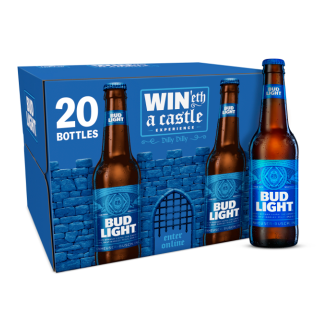 BUD LIGHT 20 PACK